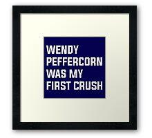 Wendy Peffercorn - Sandlot Design Framed Print