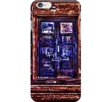 Urban Door Fine Art Print iPhone Case/Skin