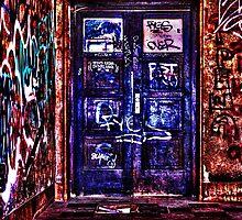 Urban Door Fine Art Print by stockfineart