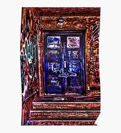 Urban Door Fine Art Print Poster