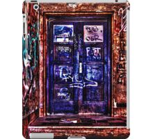 Urban Door Fine Art Print iPad Case/Skin