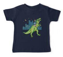 Dino Rider Baby Tee