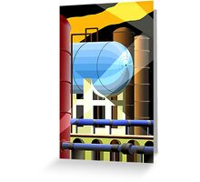 industry 3 Greeting Card