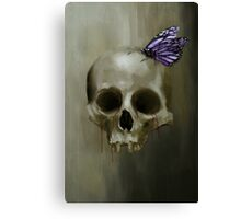 Of Death And Beauty Canvas Print