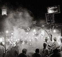 Djemaa el Fna - Marrakech by Joseph  Koprek