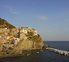 Cinque Terre Village of Manarola (Italy)  by Petr Svarc
