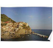 Cinque Terre Village of Manarola (Italy)  Poster