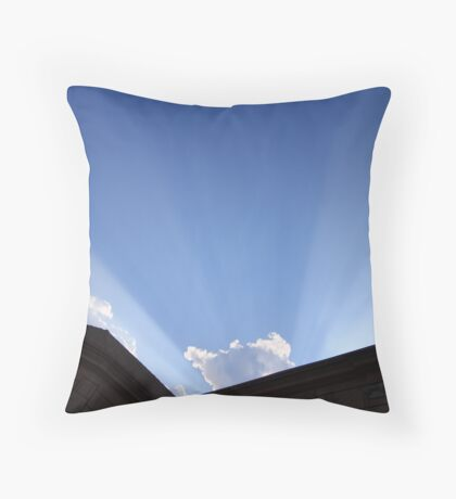Tyndall Effect I Throw Pillow