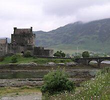 Eilean donan castle by woodlandninja
