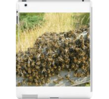 Fence bees iPad Case/Skin