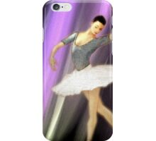 La danseuse de ballet iPhone Case/Skin