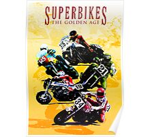 Superbikes - The Golden Age Poster
