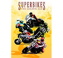 Superbikes - The Golden Age Photographic Print