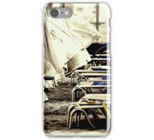 At the Beach  - JUSTART ©  iPhone Case/Skin