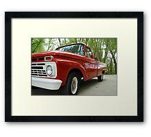 66 Ford Framed Print