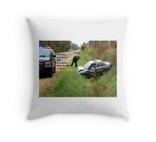 Ditch Lesson Throw Pillow
