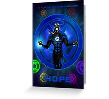 The Lantern Corps - Hope Greeting Card