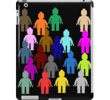 United Colors of Minifig [Large]  iPad Case/Skin