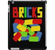 Colored Bricks [Large] by Customize My Minifig iPad Case/Skin