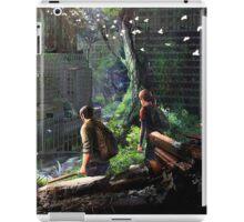 The Last of Us - Joel and Ellie Walking in the City iPad Case/Skin