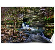 Blanchard Springs Arkansas Poster