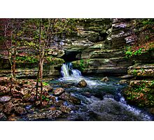 Blanchard Springs Arkansas Photographic Print