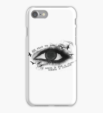 Edgar Allan Poe inspired artwork  iPhone Case/Skin