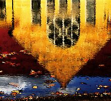 cleveland reflection by ojoblanco
