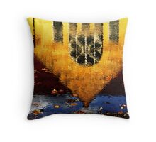 cleveland reflection Throw Pillow