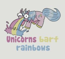 unicorns barf rainbows by Miss K Blower