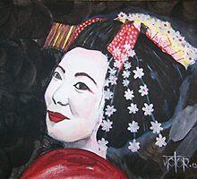 The Geisha by Victor Salazar
