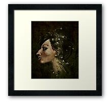 The Bride of Glass Blossoms Framed Print
