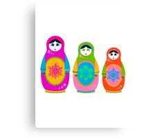 Matryoshka. Canvas Print