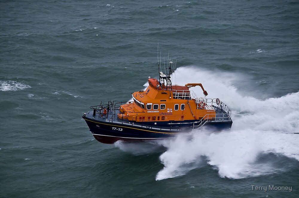 Kirkwall Lifeboat by Terry Mooney