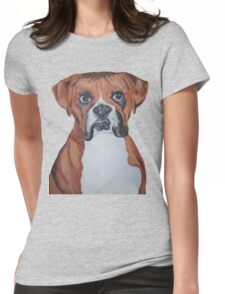 Boxer, Dog T-shirt Womens Fitted T-Shirt