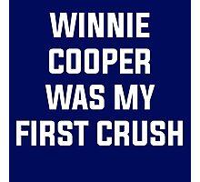 Winnie Cooper - Wonder Years Design Photographic Print