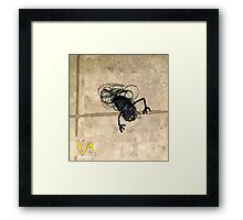"""On the Bathroom Floor"" by Richard F. Yates Framed Print"