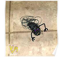 """On the Bathroom Floor"" by Richard F. Yates Poster"