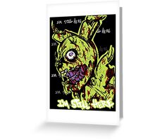fnaf - springtrapped Greeting Card