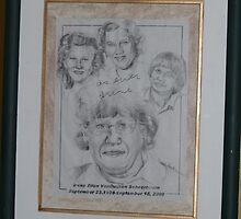 Portrait 6 Life Memorial by Rebecca Skeels