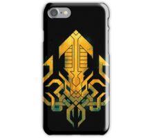 Golden Kraken Sigil iPhone Case/Skin