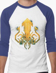 Golden Kraken Sigil Men's Baseball ¾ T-Shirt