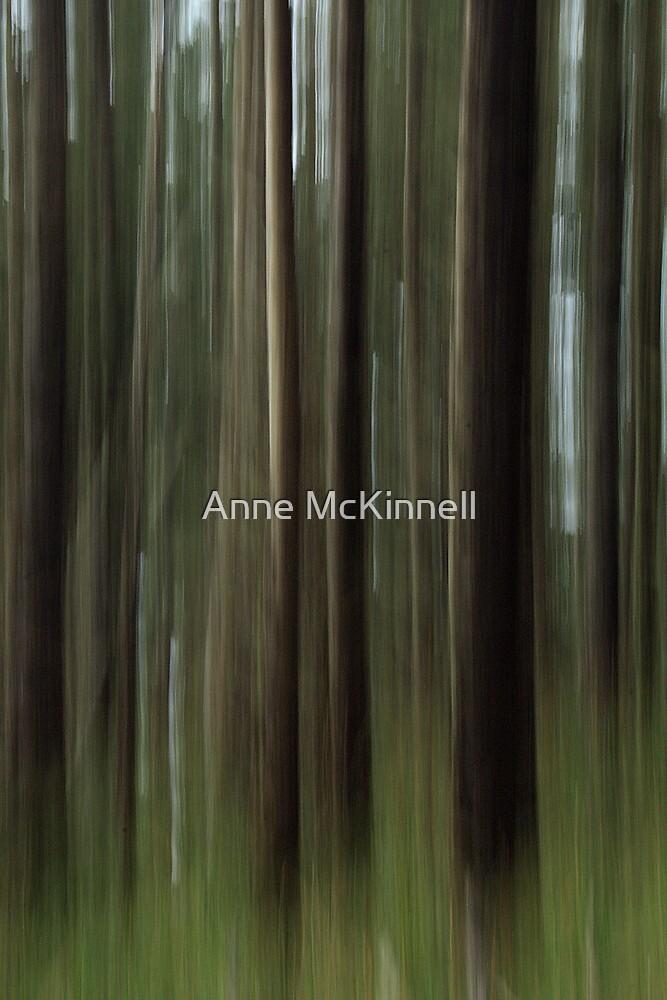 Forest Blur by Anne McKinnell