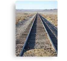 Desert Rail Canvas Print