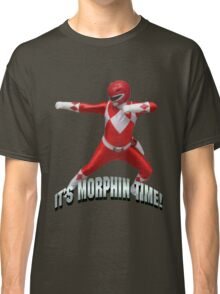 Mighty Morphin Red Ranger - It's Morphin Time! Classic T-Shirt