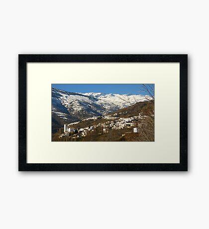 The Alpujarras, Spain Framed Print