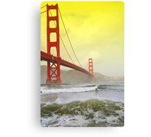 San Francisco, Surfer Dude! Canvas Print