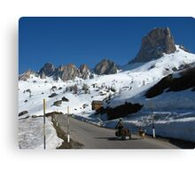 The Dolomites, Italy Canvas Print