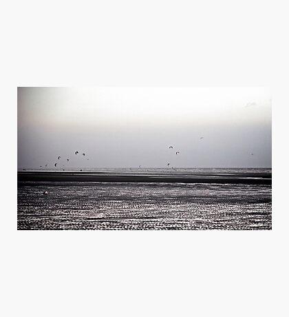 Wind surfing Photographic Print