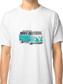 Split VW Bus Teal Classic T-Shirt